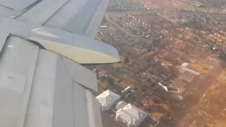 Perfect landing from Cape Town - Video