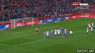 Sergio Ramos Penalty Goal - Sevilla vs Real Madrid 3-3 - Copa del Rey 12/01/2017 HD - Video