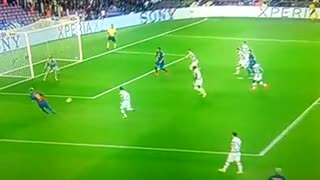 VIDEO: Suarez goal 7-0. Iniesta with an extraordinary pass - Video