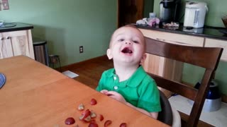 "Toddler has hilarious response to mom's ""I love you"""