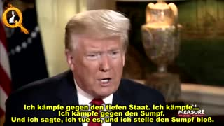 Trump against the Deep State German subtitle