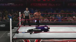 Dman4Life Plays - WWE 2K14: Challenge of the Phenominal One Part 5: Full Heel at Extreme Rules - Video