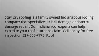 Roofing Contractor Indianapolis - Video