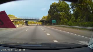 Distracted Driver Crash - Video