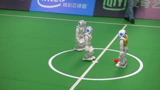 U.S. robots win at 'RoboCup' - Video