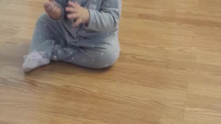 Baby Loves Her Puffs - Video
