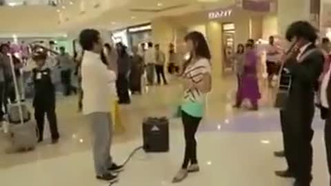 A failed marriage proposal Watch what happens at last