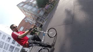 GoPro on Bike helmet Fail  - Video