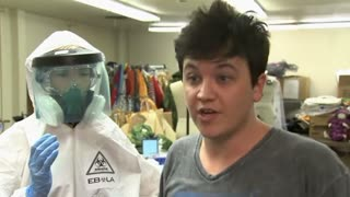 Ebola Halloween getup stirs controversy - Video