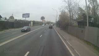 Lane Change Fail - Video
