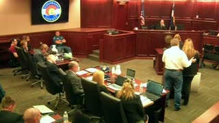Victims sob at Colorado movie gunman's sentencing - Video