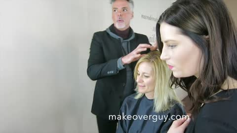 MAKEOVER: Thin Fine Hair and a Small Head, by Christopher Hopkins, The Makeover Guy®
