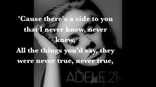 اروع اغاني في العالم(Adele - Set Fire to the Rain Lyrics) - Video
