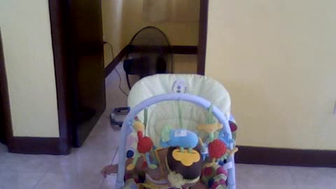 Baby on the Stroller