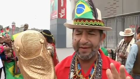 Peruvian shamans pick Brazil to win World Cup