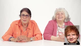 "Grandmas Play ""Hot or Not"" with Your Favorite Celebrities - Video"
