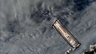 Roll-Out Solar Array Experiment (ROSA) Deploys on International Space Station - Video
