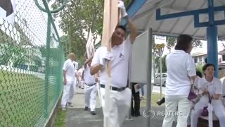 Singapore ruling party to face historic fight for seats - Video