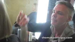 MAKEOVER: 50 Years Old and Need a Lift by Christopher Hopkins, The Makeover Guy - Video