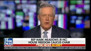 Mark Meadows Reveals Obama Holdover Coup