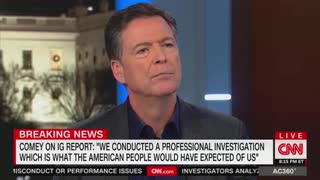 Comey: Barr may investigate Durham