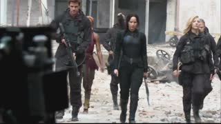 Scense : The Hunger Games Mockingjay - Video