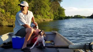 Puppy Rescue from American River - Video