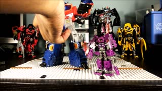 REVIEW CiiC Kre O Transformers Shockwave - Video