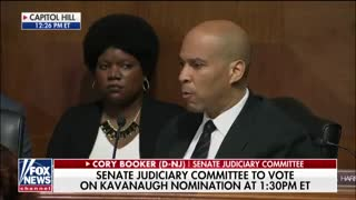 Cory Booker pledges help lead the way in toning down the political rhetoric in the country - Video