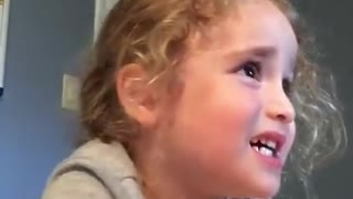 Little Girl Has Something To Say To Mom, And She Won't Be Too Happy About It - Video