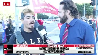 Ex ANTIFA member speaks about Trump Supporters