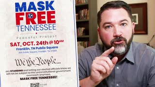 Join us the Mask Free Tennessee Peaceful Protest