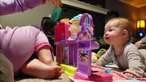 Heartwarming compilation celebrates rainbow baby's first year