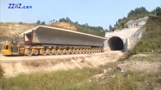 Heavy Duty Bridge Girder Transporter - Video