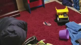 He's going to Lala and paw paw' s house - Video