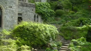 Windsor Castle - Beautiful Garden. United Kingdom  - Video