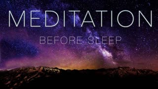 A meditation guide for before you sleep