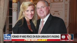 Former Vice President Mike Pence Discusses Rush Limbaugh Part 1