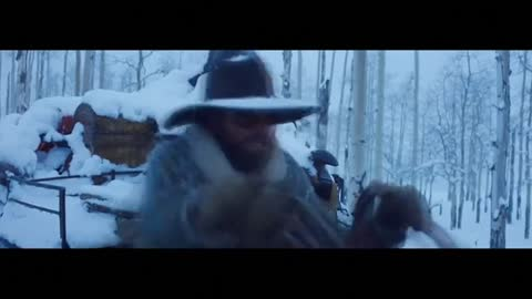 "First look at Tarantino's ""The Hateful Eight"""