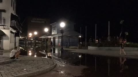 Time lapse of Flooding in Wilmington NC after Hurricane Florence