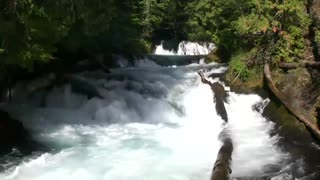 relaxing 3 hour video of a mountain river
