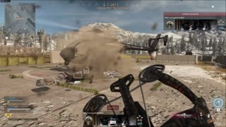 Epic crossbow action in Call of Duty: Warzone