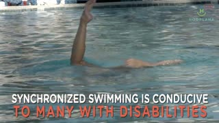 Synchronized Swimming: An Amazing Therapy For Disabled Children! - Video