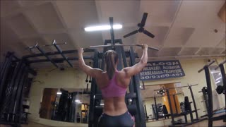 My girlfriend workout - Video