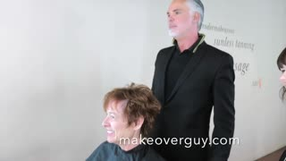 MAKEOVER: Cool Red Pixie, by Christopher Hopkins, The Makeover Guy® - Video