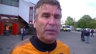 Jubilant Wolves fans react to win over Nottingham Forest - Video