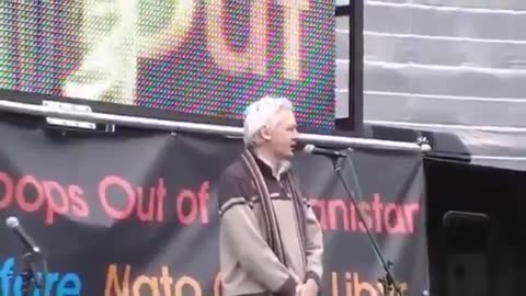 「If wars can be started by lies,peace can be started by truth.」—Julian Assange 「如果戰爭可以由謊言開始,和平可以由真理開始」—朱利安.阿桑奇(Julian Assange)