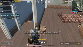 How To Kill Two Enemies Inside House Pubg Game