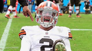 Johnny Manziel Allegedly Slept Off Hangovers in the Browns Equipment Room - Video