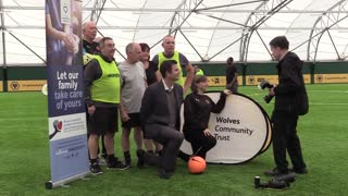 Wolves Community Trust launches walking football partnership with Secure Healthcare Solutions - Video